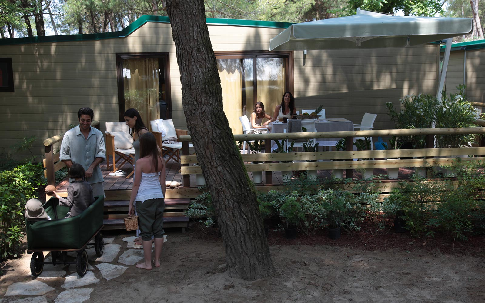 4-wooneenheid Camping Dei Fiori