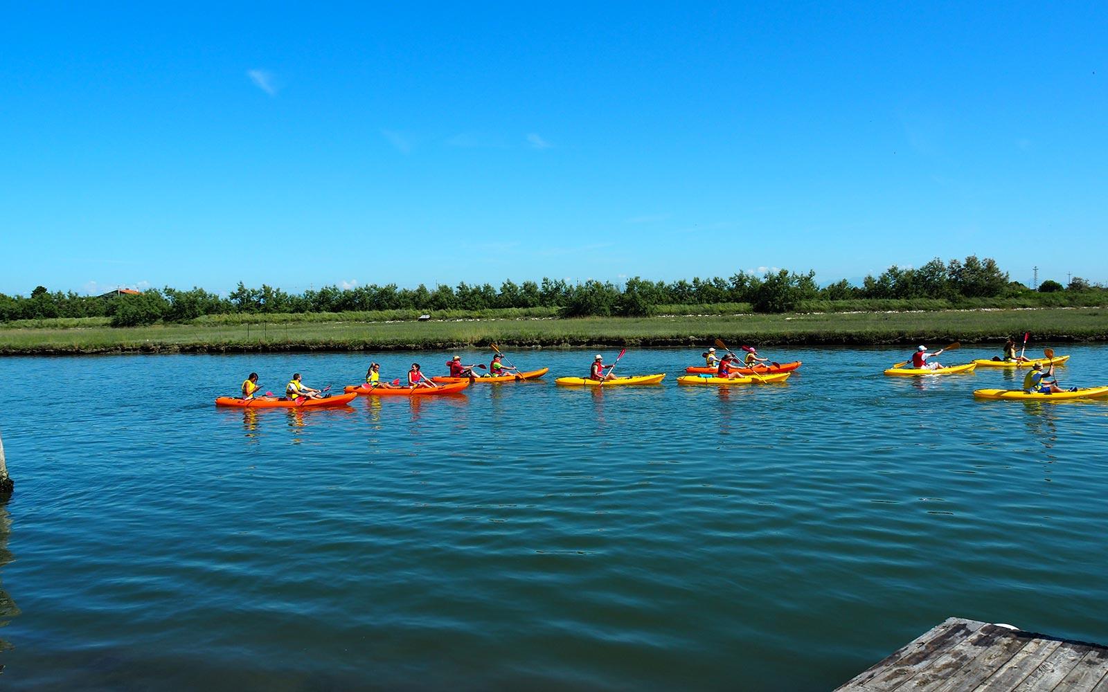 6 Escursione in canoa nella Laguna di Venezia da Cavallino - Jesolo