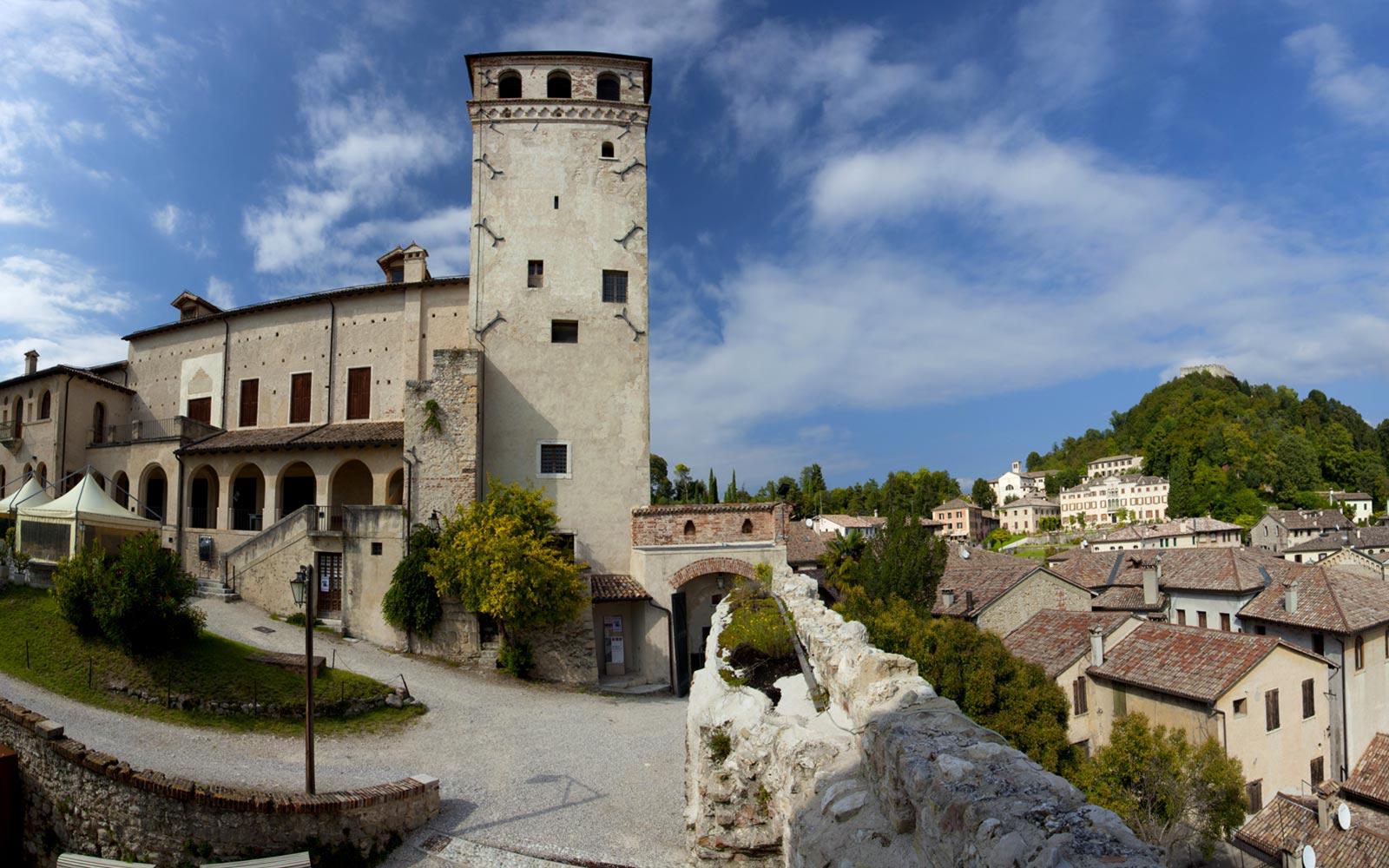 9 Asolo. TagesausflÅge wÑhrend eines Urlaubs in Cavallino Jesolo