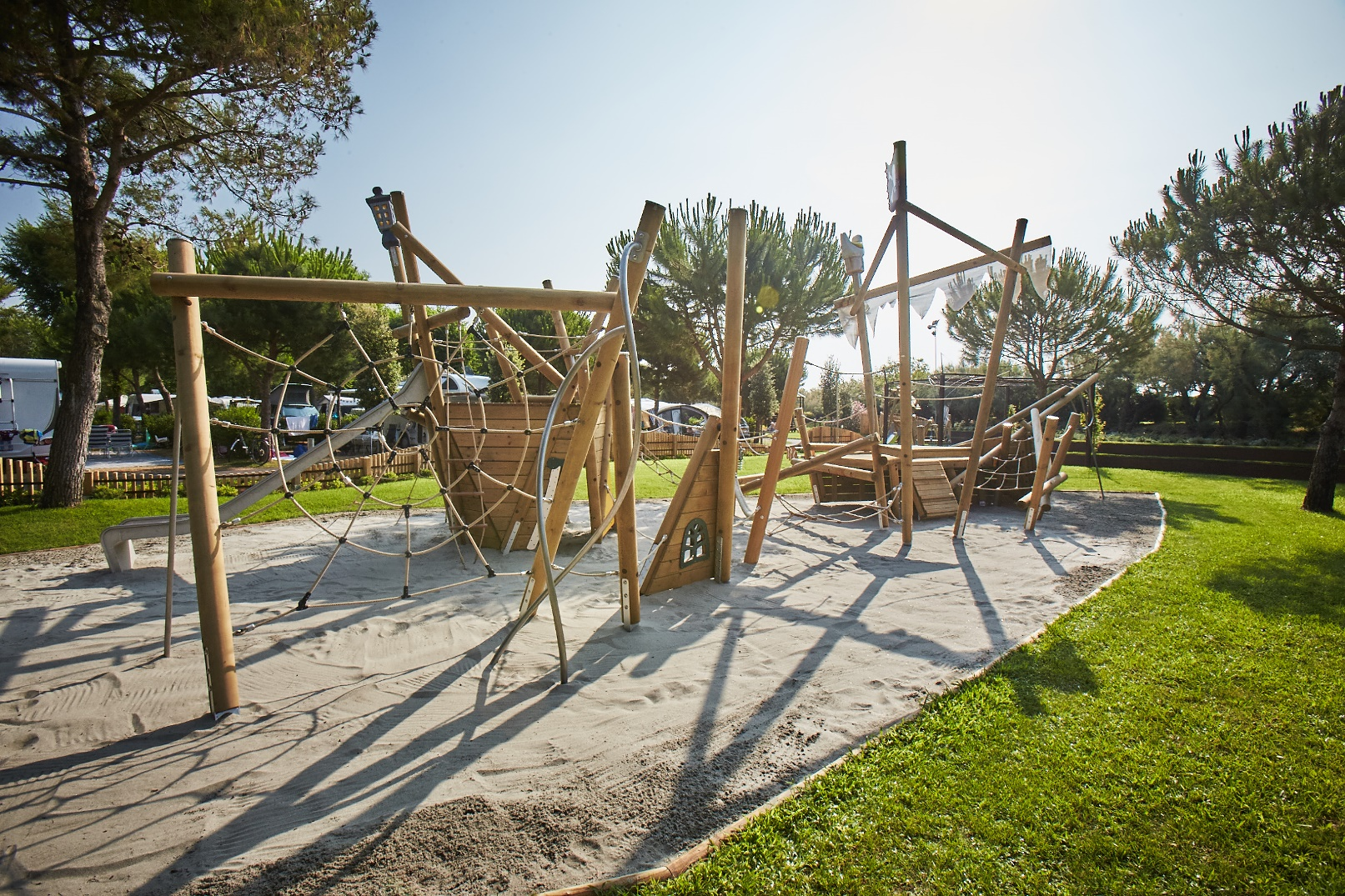 1 Parco giochi bambini Camping Village Dei Fiori - Cavallino Treporti