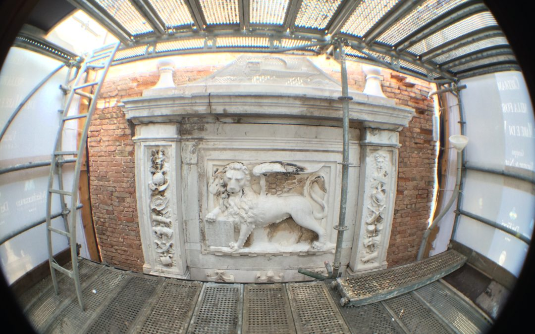 Camping Village Dei Fiori is at the forefront in the restoration of the Venetian Arsenal's Lion