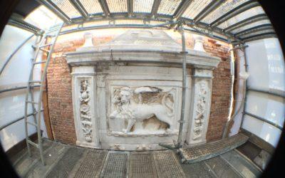 Camping Village Dei Fiori è in prima linea nel restauro del leone dell'Arsenale di Venezia