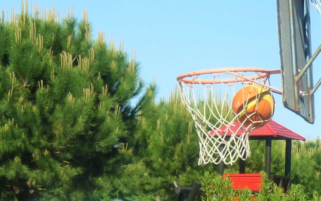 Ein Wochenende Im freien Im Zeichen des Basketballs