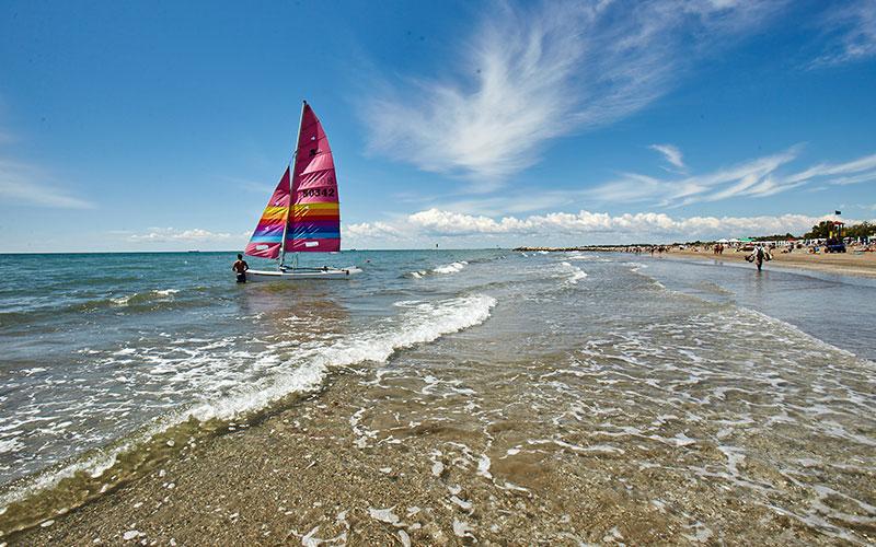 Catamarano sull'Adriatico a Cavallino Jesolo