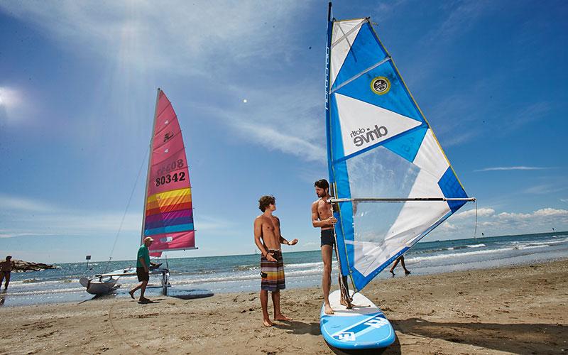 Windsurfschule in Cavallino Jesolo