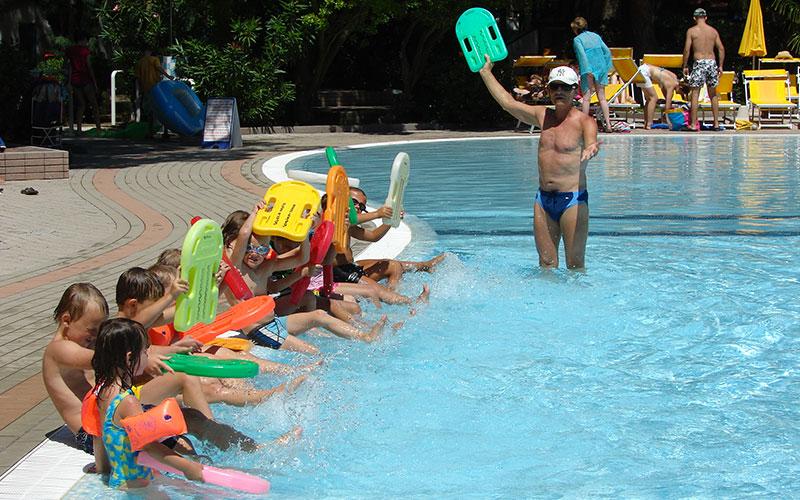 Schwimmschule Campingplatz Cavallino Jesolo