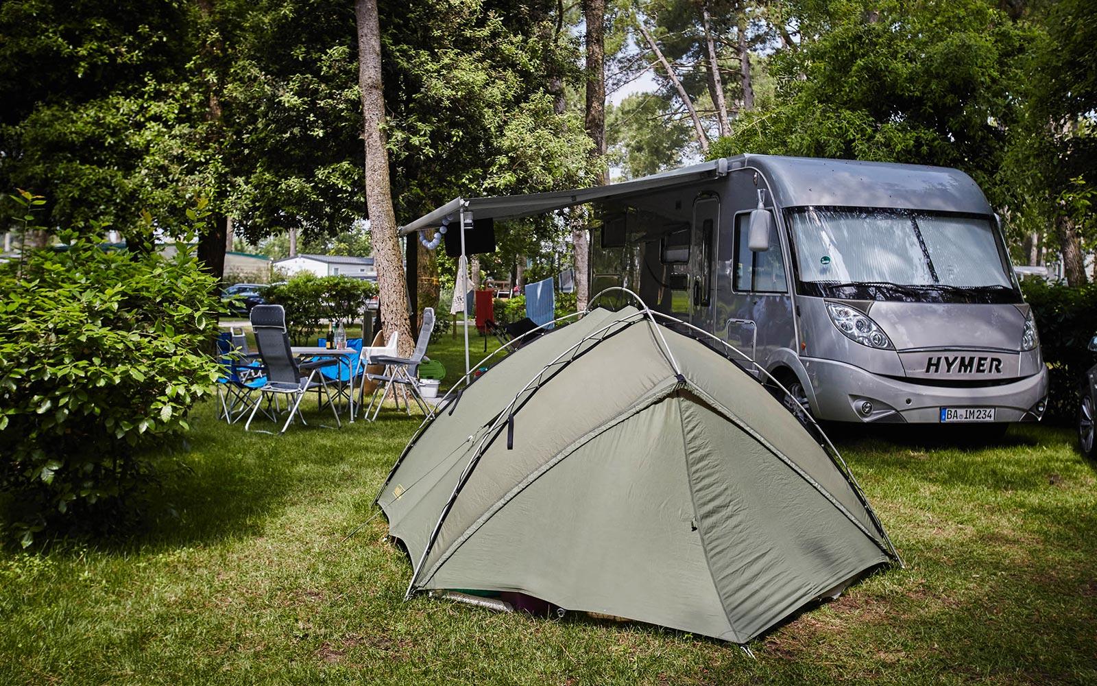 10-Campingplatz am Meer