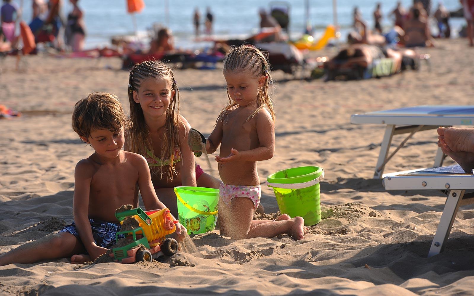 10. Spiaggia per famiglie