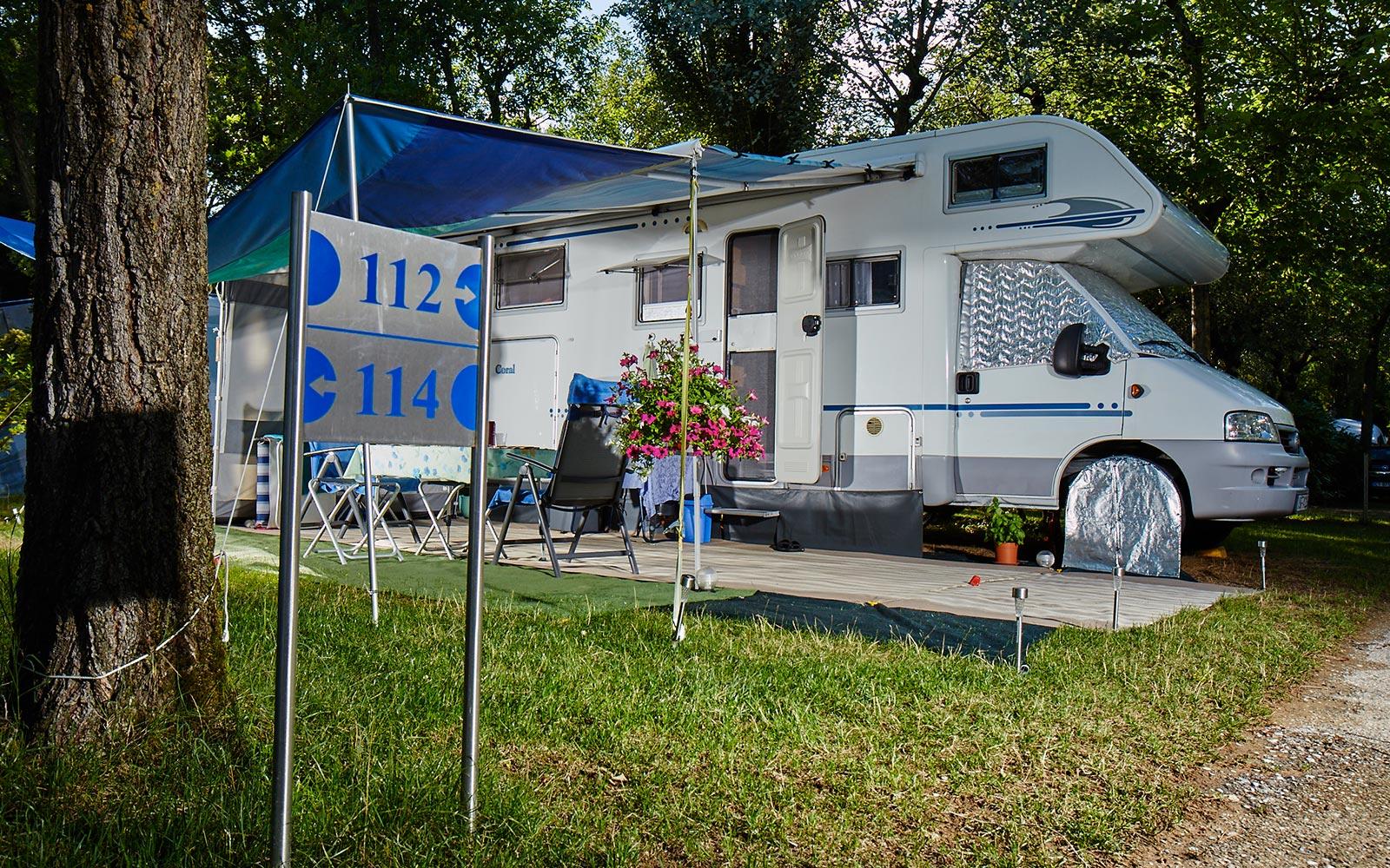 5-kampeerplaatsen Camping Dei Fiori