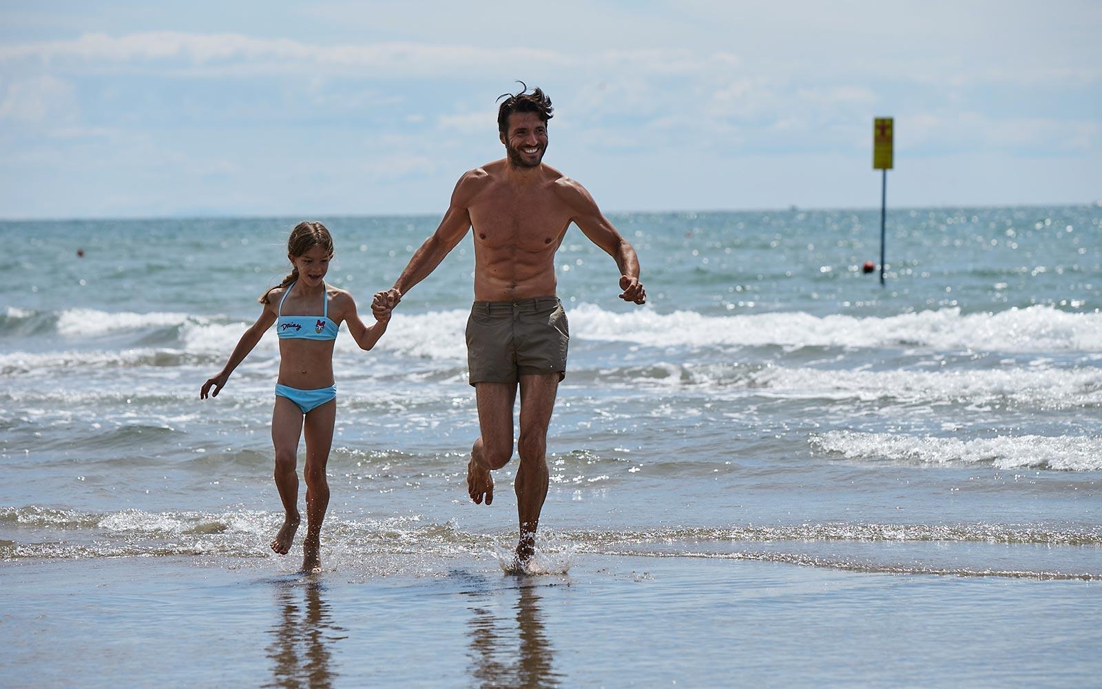 7. vakantiedorp aan het strand