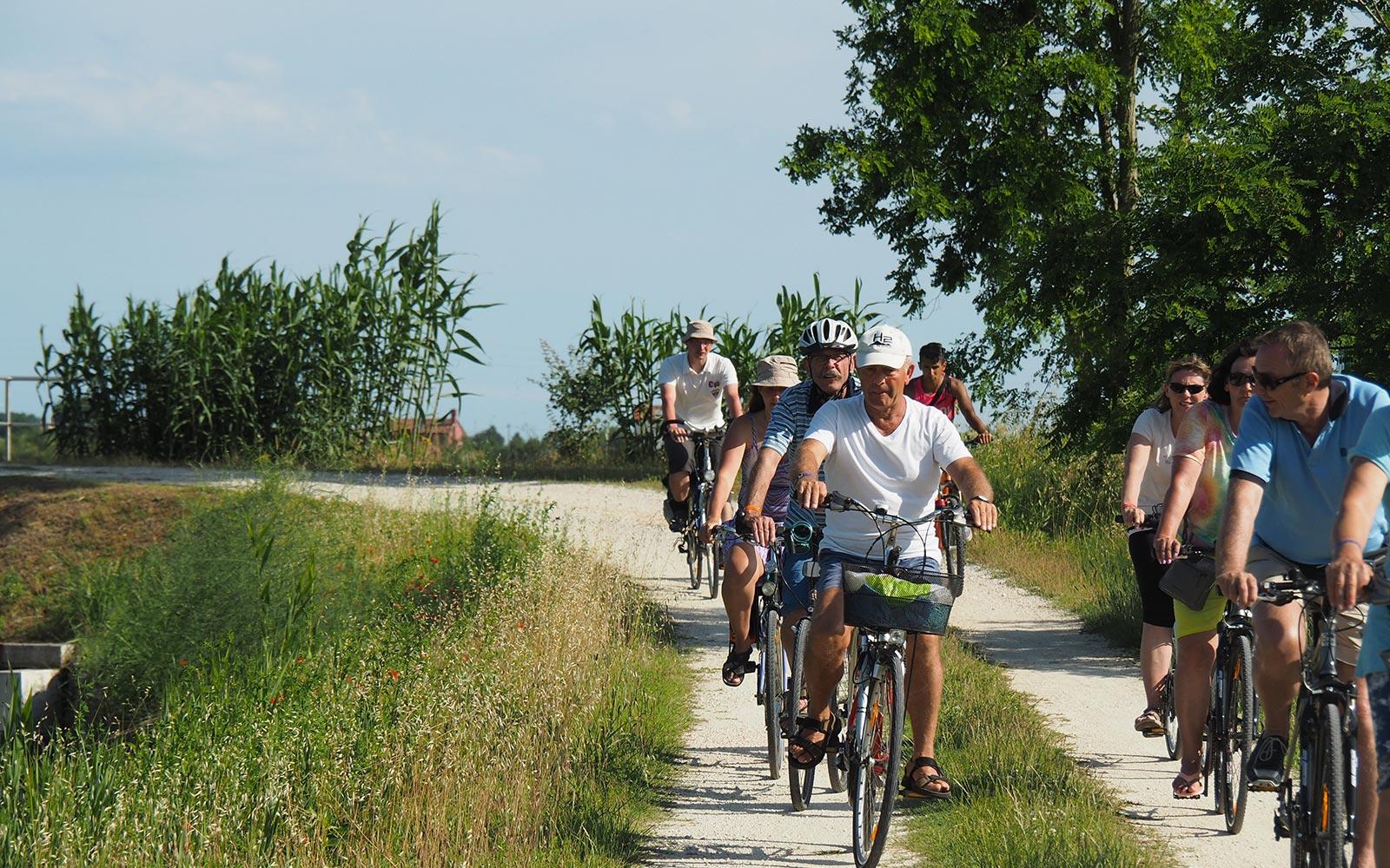4 Laguna di Venezia. Escursione in bicicletta dal Camping Dei Fiori