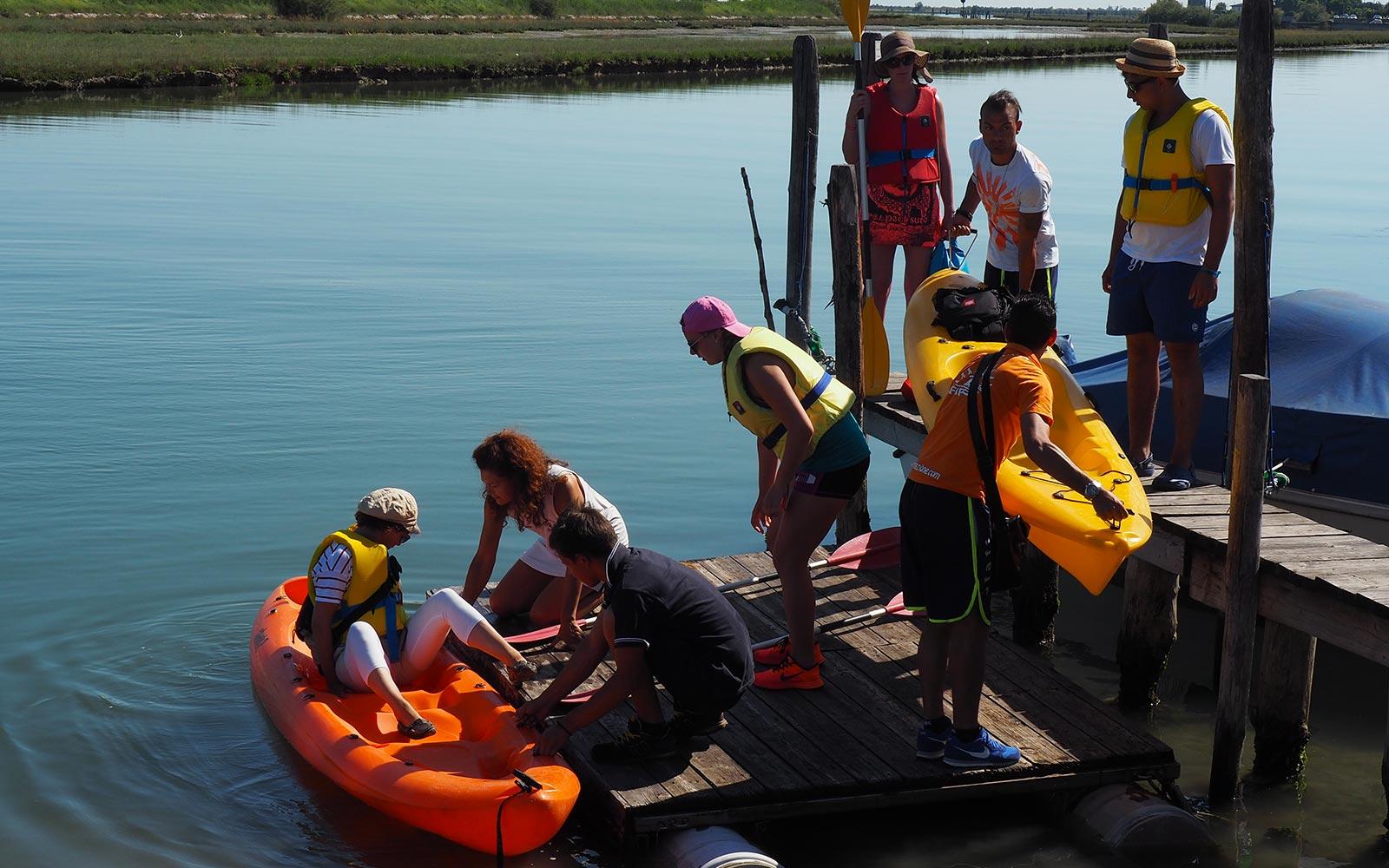 7 Canoe trip in Venice Lagoon from Cavallino - Jesolo