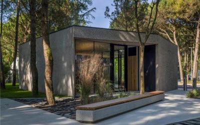 Nuova reception: connubio di natura e modernità