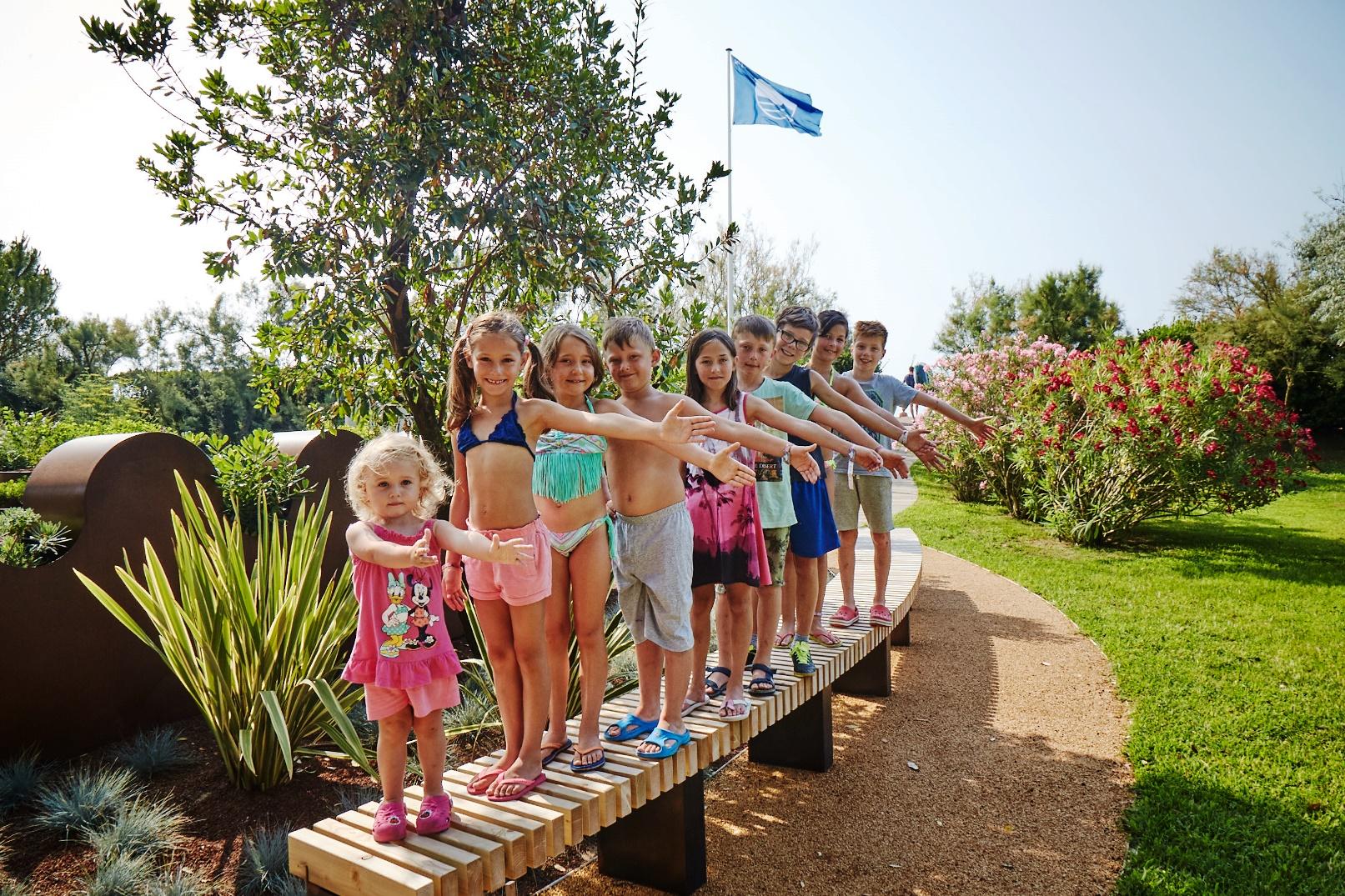 4 Kids have fun on holiday at Dei Fiori Camping - Venice Jesolo