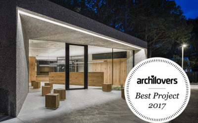 """Best Archilovers 2017"" per la nuova reception Dei Fiori"