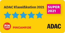 Dei Fiori Camping Village has been awarded by ADAC with the Superplatz prize